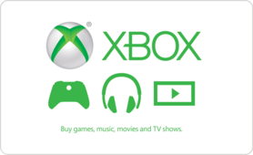 $15 Xbox Live Gift Card
