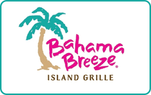 $10 Bahama Breeze® Gift Card