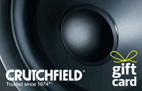 $25 Crutchfield Gift Card