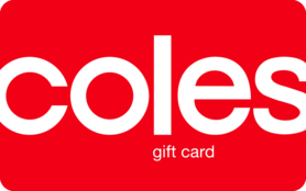 $100 AUD Coles Gift Card