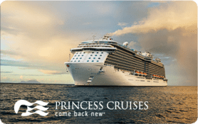 $25 Princess Cruise Lines, Ltd. Gift Card