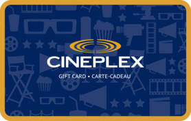 10 CAD Cineplex Odeon (Canada) Gift Card