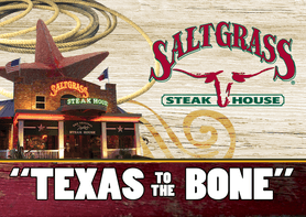 $20 Saltgrass Steak House® Gift Card