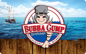 $20 Bubba Gump Shrimp Co.® Gift Card