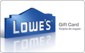 $5 Lowes Gift Card