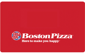 10 CAD Boston Pizza Gift Card