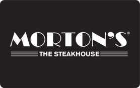 $20 Morton's The Steakhouse Gift Card