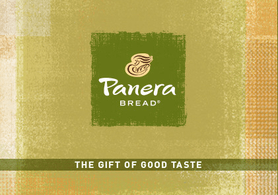 $5 Panera Bread Gift Card