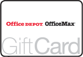 $5 Office Depot® Gift Card