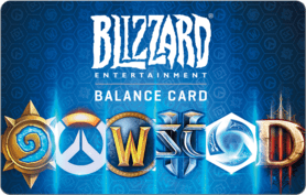 $20 Blizzard Battlenet Gift Card