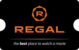 $10 Regal Entertainment Gift Card