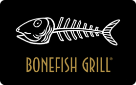 $5 Bonefish Grill Gift Card