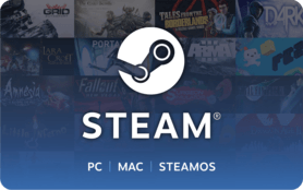 20 GBP Steam UK Gift Card