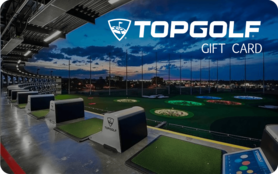 $10 TopGolf Gift Card