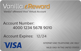 $50 USD Visa® Prepaid Card