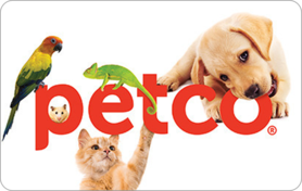 $10 Petco Gift Card