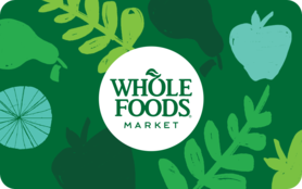 $10 Whole Foods Market Gift Card