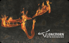 $10 LongHorn Steakhouse® Gift Card