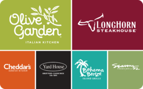 $10 Darden Restaurants Gift Card