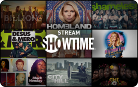 $25 SHOWTIME® Gift Card