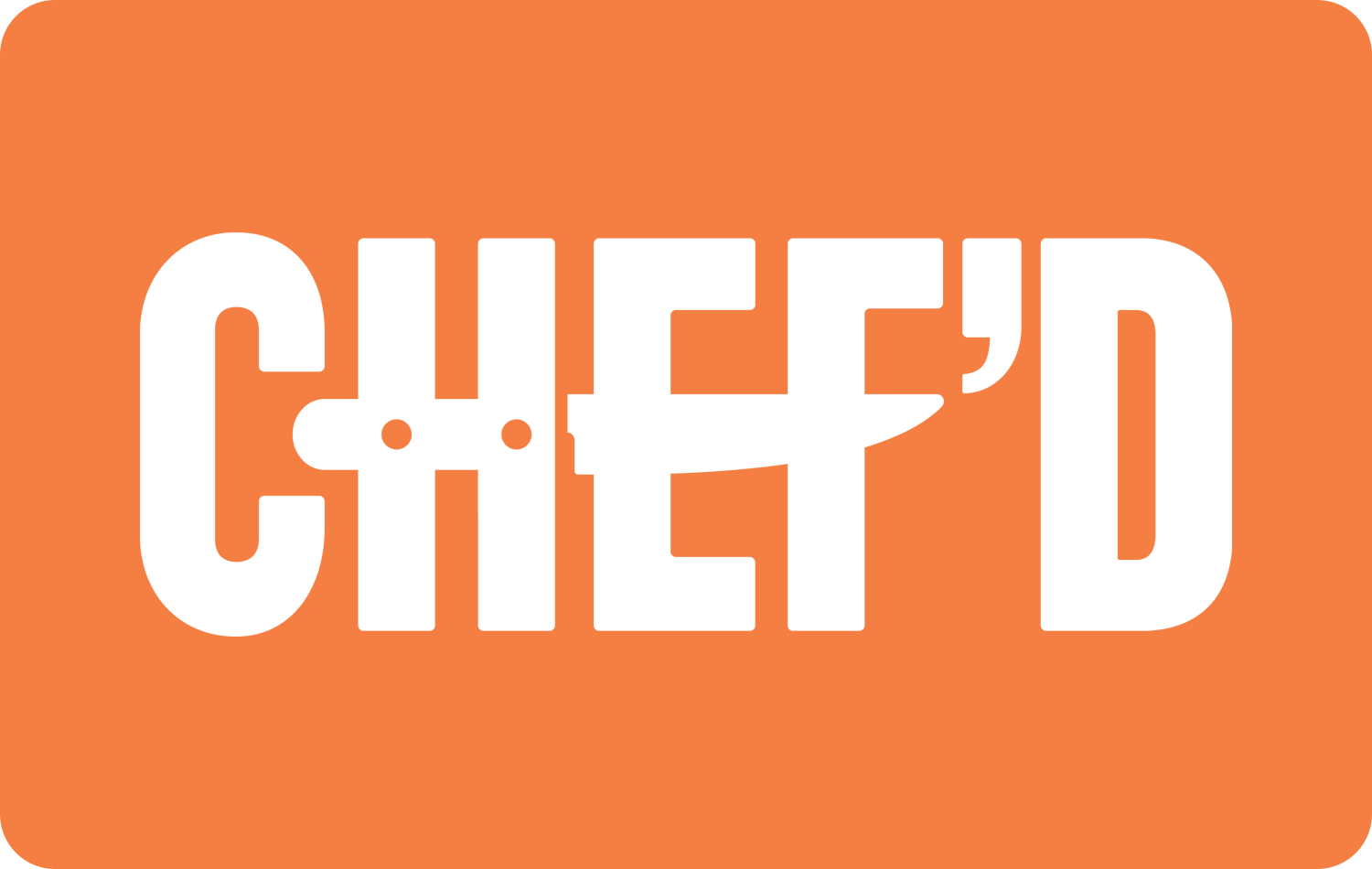 $25 Chefd Gift Card