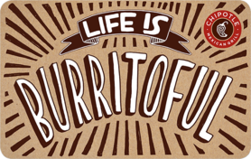 $10 Free Chipotle Gift Card