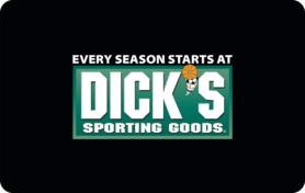 $25 Dick s Sporting Goods Gift Card