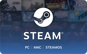 $5 Steam Wallet Code