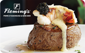 $5 Fleming s Prime Steakhouse & Wine Bar Gift Card