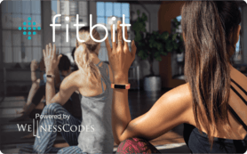 $25 Fitbit powered by WellnessCodes Gift Card