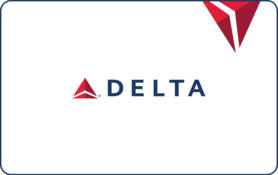 $100 Delta Air Lines Gift Card