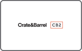 25 CAD Crate and Barrel Canada Gift Card