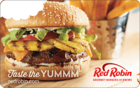 $10 Red Robin Gift Card
