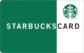 $5 Starbucks Gift Card