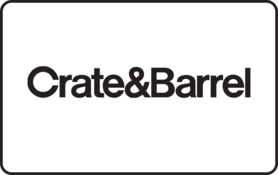 $25 Crate and Barrel Gift Card