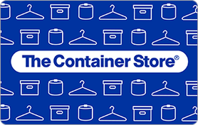 $5 The Container Store Gift Card