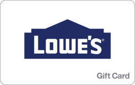 $25 Lowes Gift Card