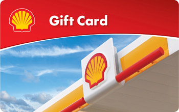 $10 Shell Gift Card - Shipped