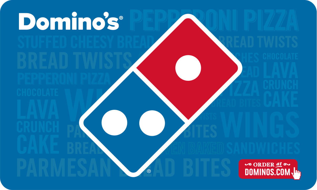 $10 Dominos Pizza Gift Card