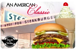 $25 Steak n Shake Gift Card - Emailed