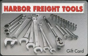 $10 Harbor Freight Tools Gift Card - shipped