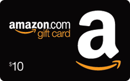 Shipped $10 Amazon.com Gift Card