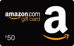 Shipped $50 Amazon.com Gift Card