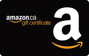 2 CAD Amazon.ca Gift Card
