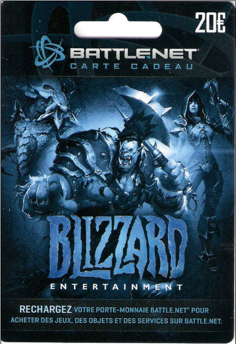 €20 Blizzard Battlenet Europe Gift Card