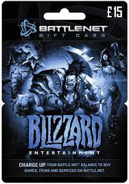 £15 Blizzard Battlenet UK Gift Card