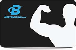 $25 BodyBuilding.com Gift Card - Emailed