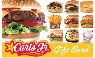 $10 Carl's Jr Gift Card - Shipped