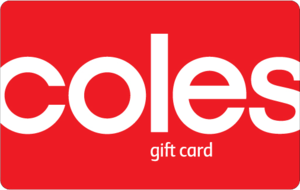 $5 AUD Coles Gift Card
