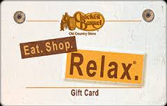 $10 Cracker Barrel Gift Card - Emailed